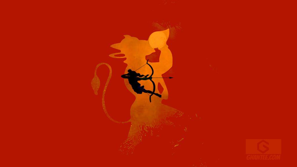 sree ram and hanuman hd wallpaper for laptop 1080p