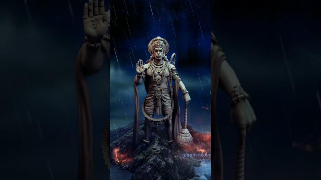 angry hanuman live status 1080p